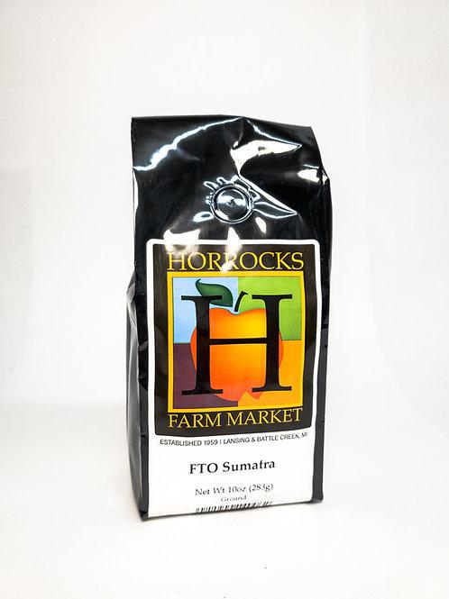 Fair Trade Organic Sumatra Ground 10oz