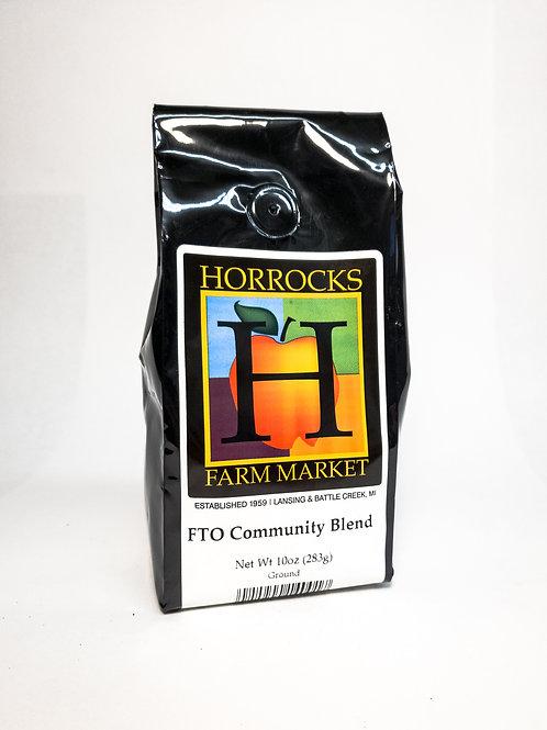 Fair Trade Organic Community Blend Ground 10oz