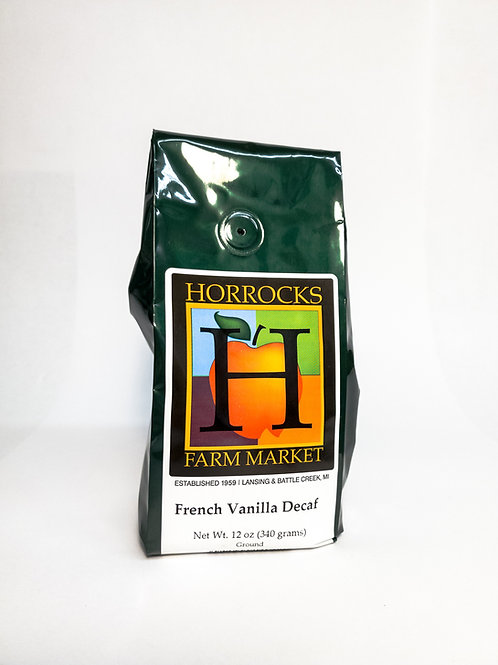 French Vanilla Decaf Ground 12oz