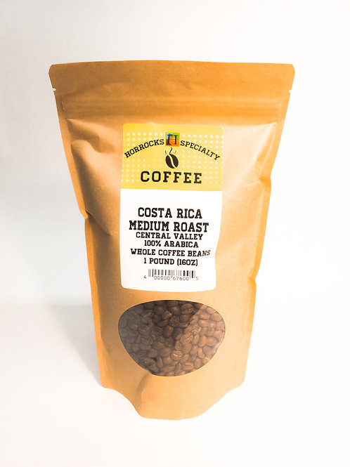 Costa Rica Medium Roast 1lb