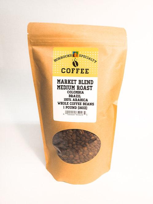 Market Blend Medium Roast 1lb