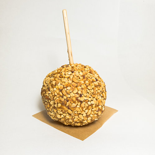 Peanut Caramel Apple