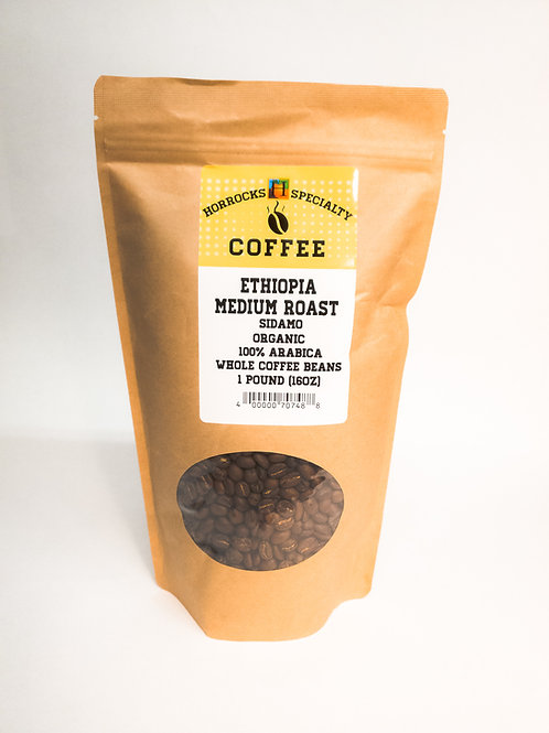 Ethiopia Medium Roast 1lb
