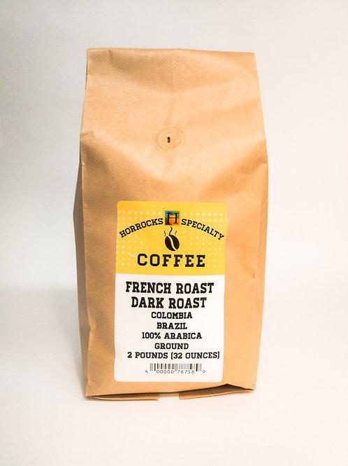 French Dark Roast Ground 2lb