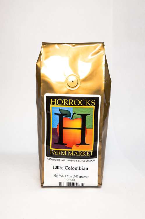 100% Colombian Ground 12oz