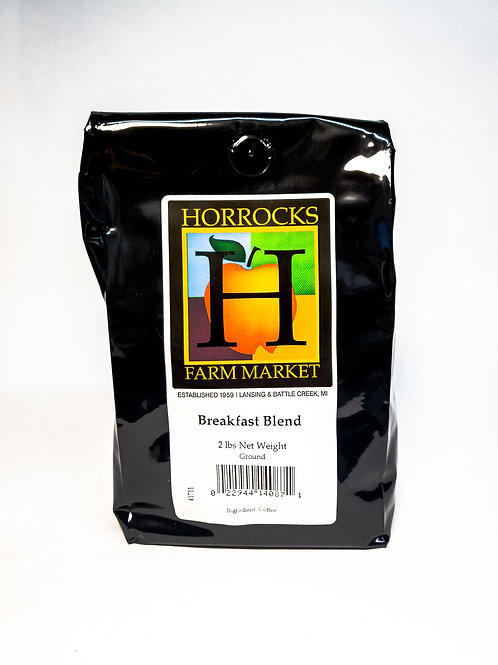Breakfast Blend Ground Coffee 2lb