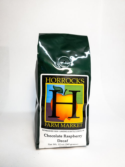 Chocolate Raspberry Decaf Ground 12oz