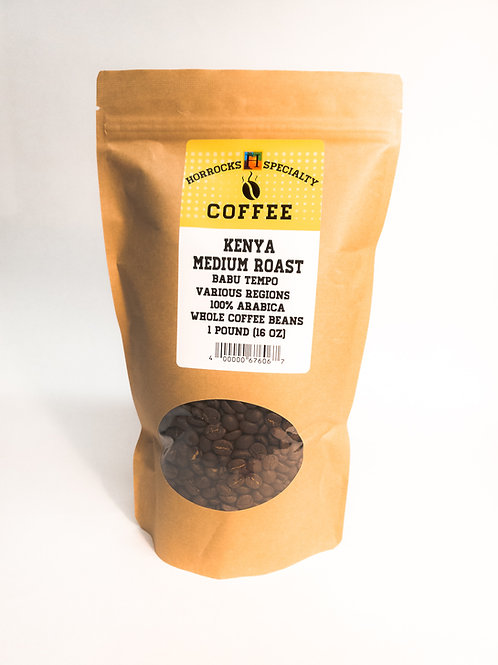 Kenya Medium Roast 1lb
