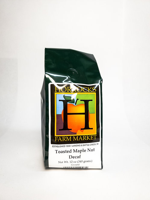 Toasted Maple Nut Decaf Ground 12oz