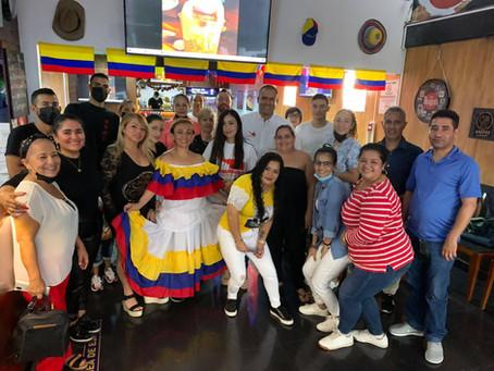 Reuniones con la diáspora Colombiana