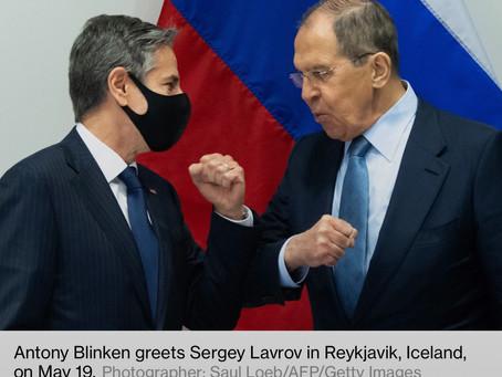 Lavrov insta a Blinken a arreglar la situación dejada por las pasadas administraciones EEUU