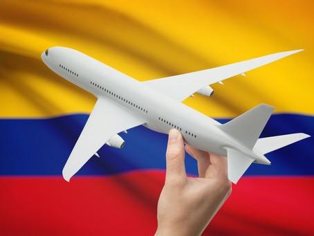 Los vuelos humanitarios colombianos