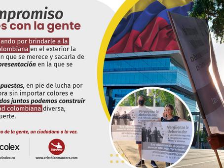 Propuestas Colombianos en el exterior