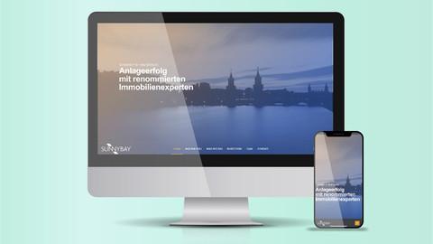 Webdesign Immobilienfonds