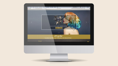 Webdesign Coiffure