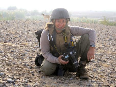 Brava to Changemaker Lynsey Addario—named a Nat Geo Society Storytelling Fellow for 2020-2021!