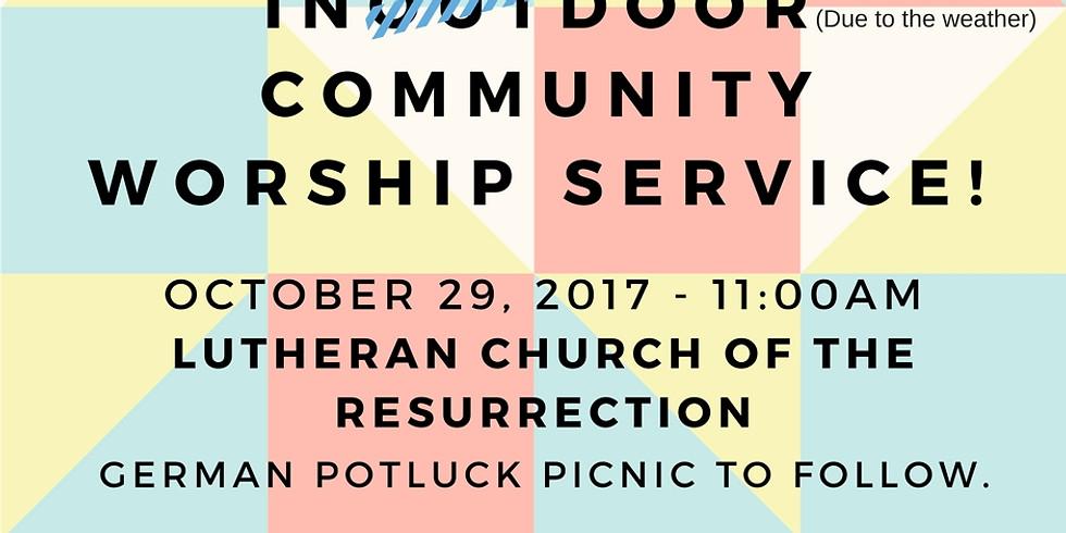 Community Worship Service!!!