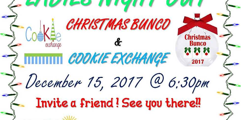 Ladies Night Out Christmas Bunco & Cookie Exchange