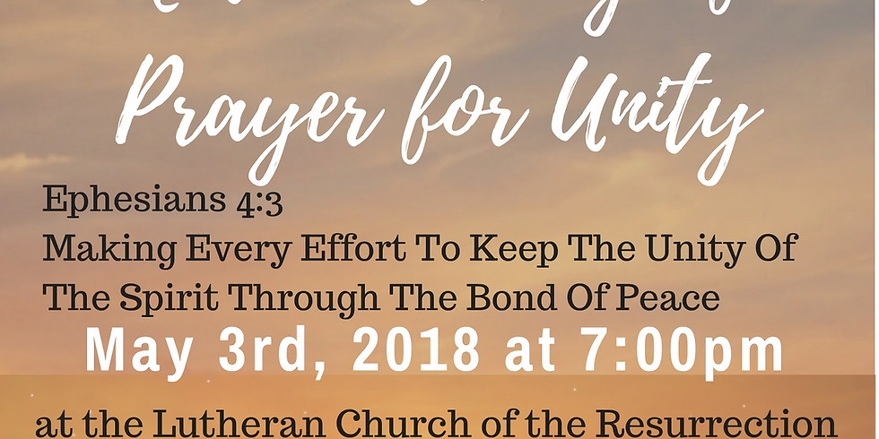 2018 NATIONAL DAY OF PRAYER FOR UNITY (1)