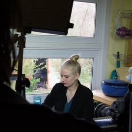 Candice in Clingwrap (Student Film)