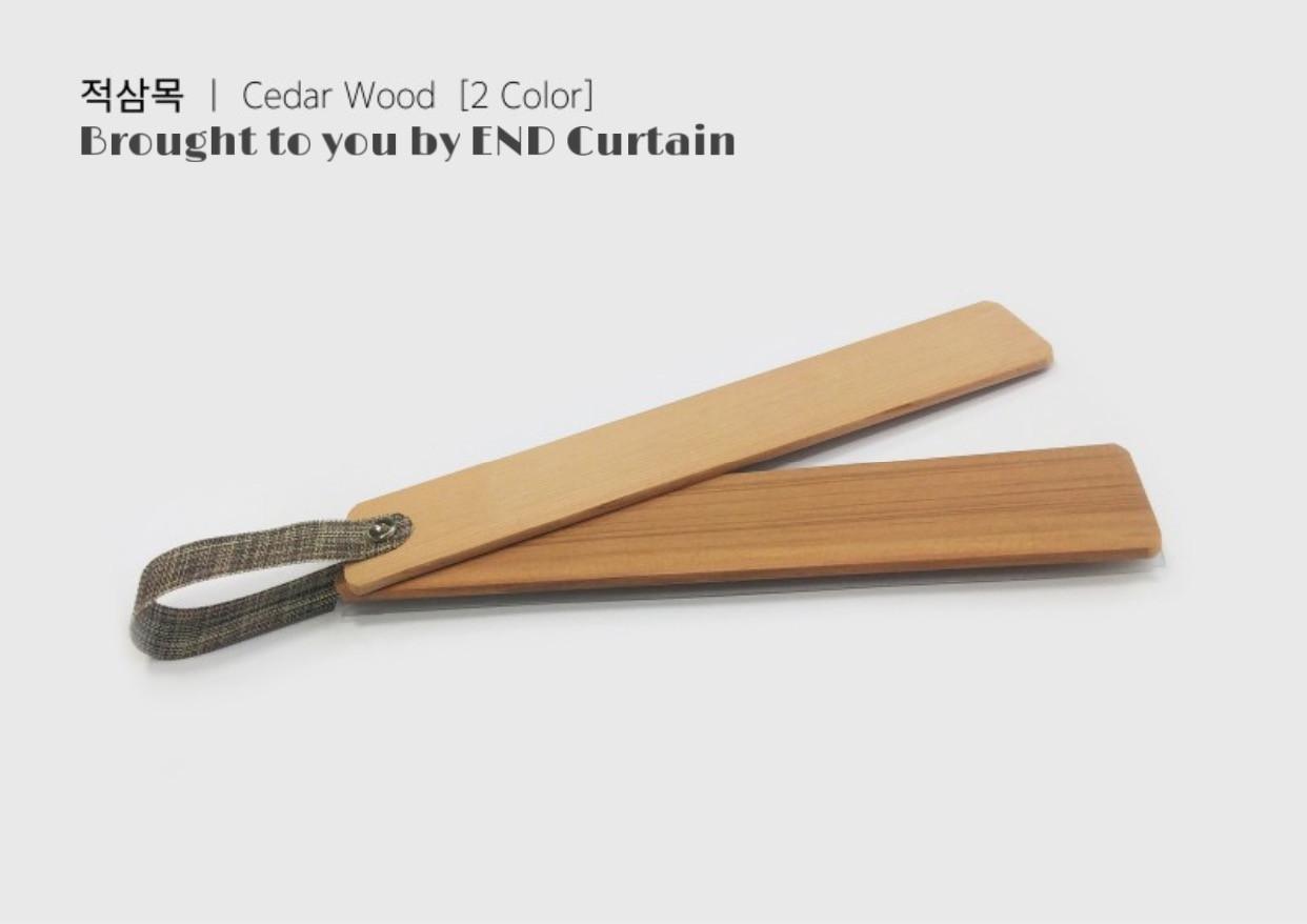 Cedar Wood Timber Venetian Blinds - END CURTAIN Singapore