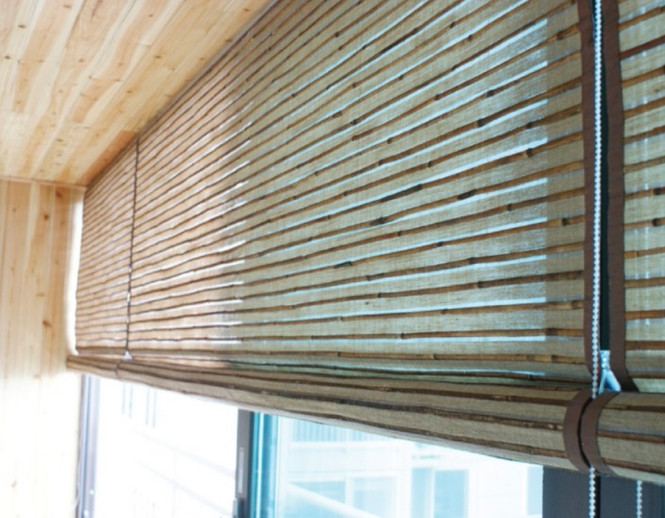 Natural Wood Blinds - END CURTAIN Singapore