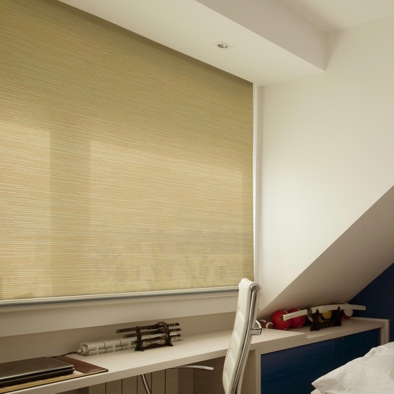 Perforated and Dim Out Roller Blinds - END CURTAIN Singapore