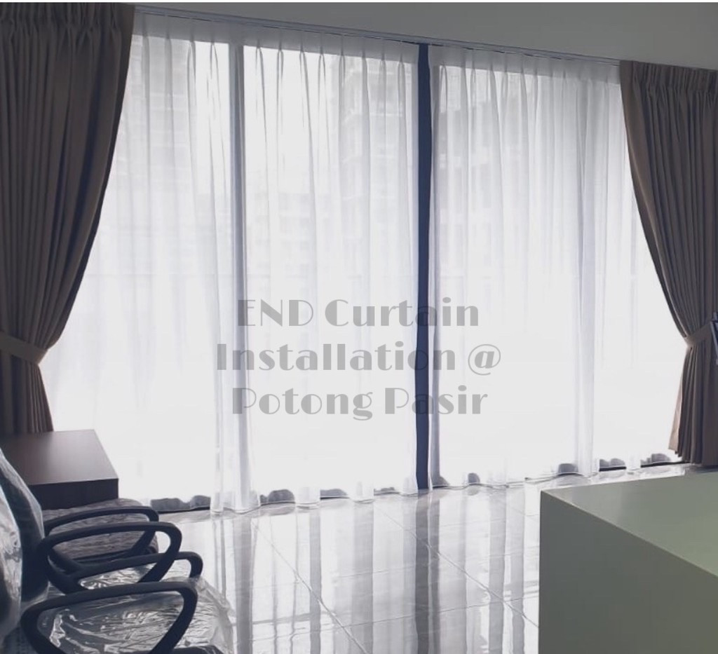 Night Curtains - END CURTAIN Singapore