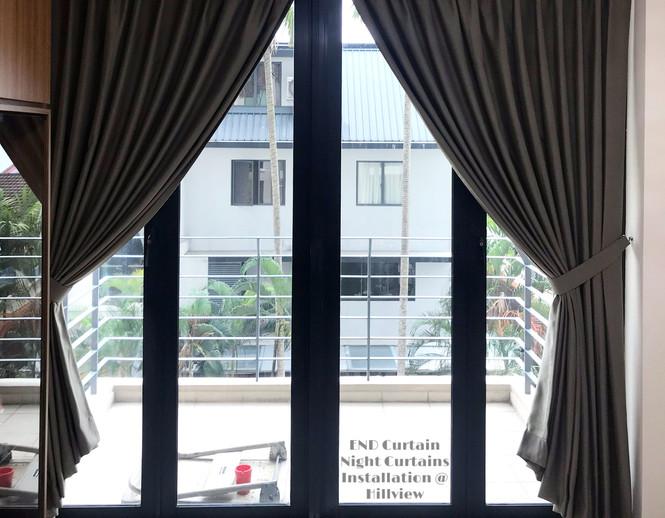 Night Curtains - END CURTAIN Singapore
