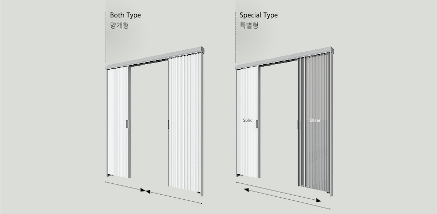 Honey Glide System Partition - END CURTAIN Singapore