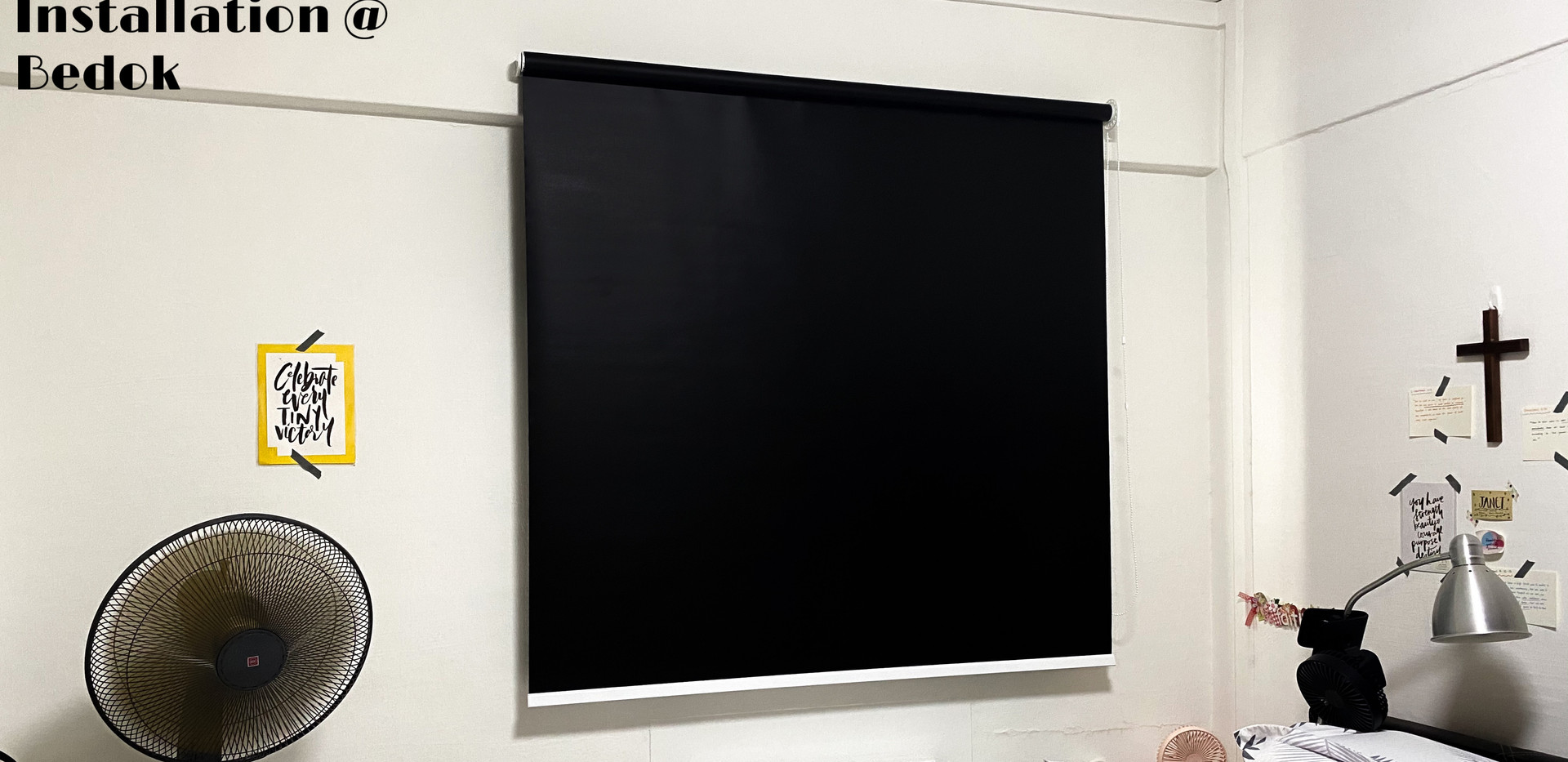Black Out Roller Blinds - END CURTAIN Singapore