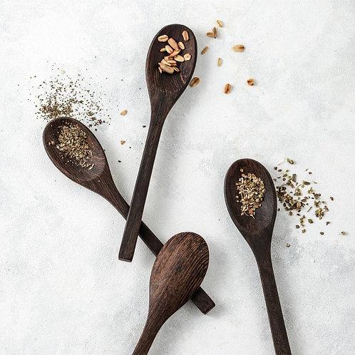 Organic wooden spoon