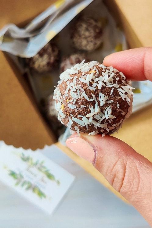 Cocoa & Coco Protein Balls