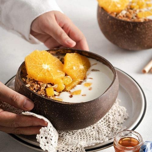 Plain Coconut Bowl Set