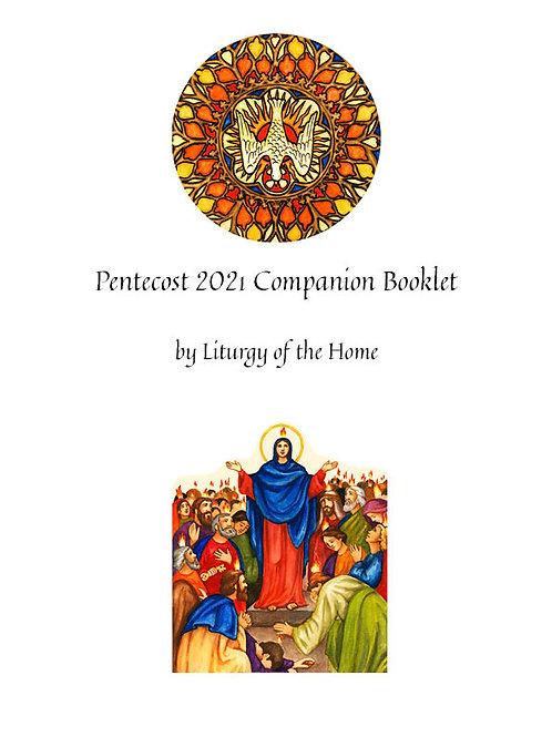 Pentecost 2021 Companion Booklets