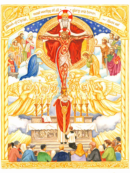 July Dedication To The Most Precious Blood