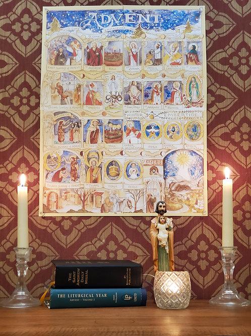 Advent Pictorial Calendar 2020