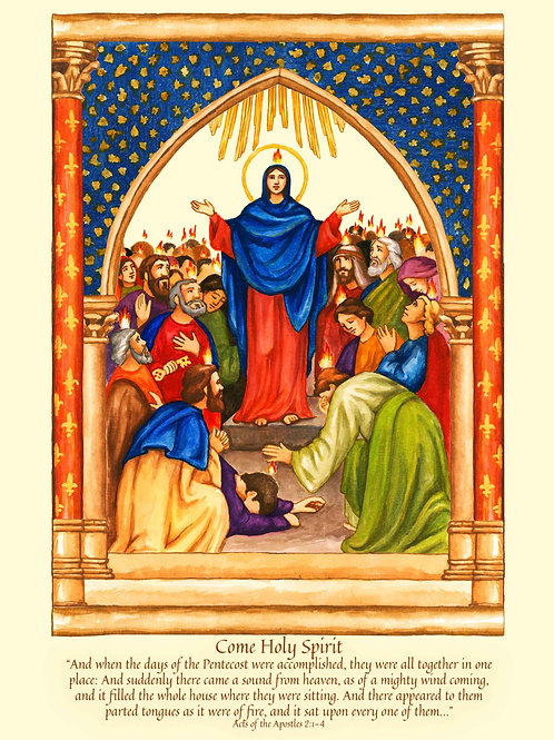 Pentecost 2021 Color Display Images