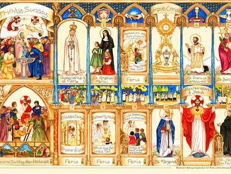 The Pentecost calendar is complete!