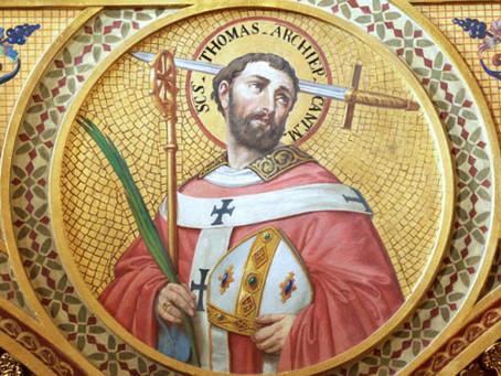 St. Thomas Becket, ora pro nobis!