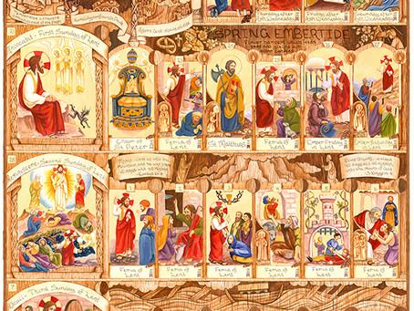 The Lent calendar part 1 is READY!
