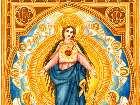 Immaculate Heart of Mary, ora pro nobis!