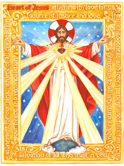 June Dedication to The Sacred Heart