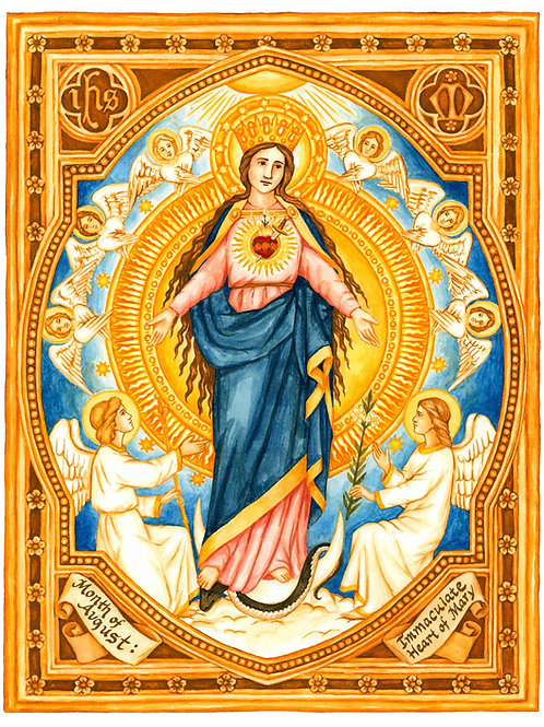 August Dedication to The Immaculate Heart