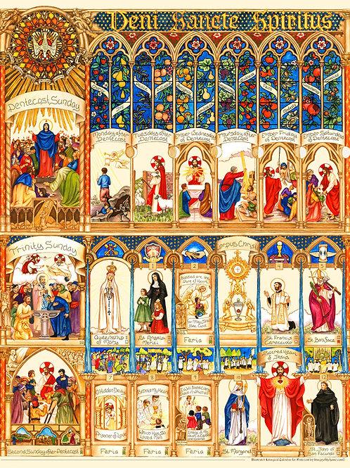 Illustrated Pentecost Calendar 2021