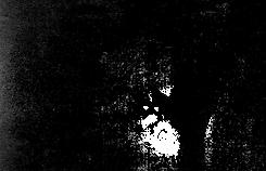 Image tramée d'une main