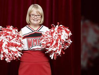 Lauren Potter, estrella favorita de la serie Glee