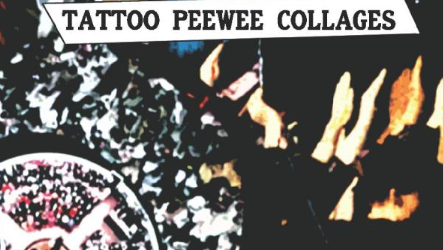 The Major Arcana: Tattoo Peewee Collages