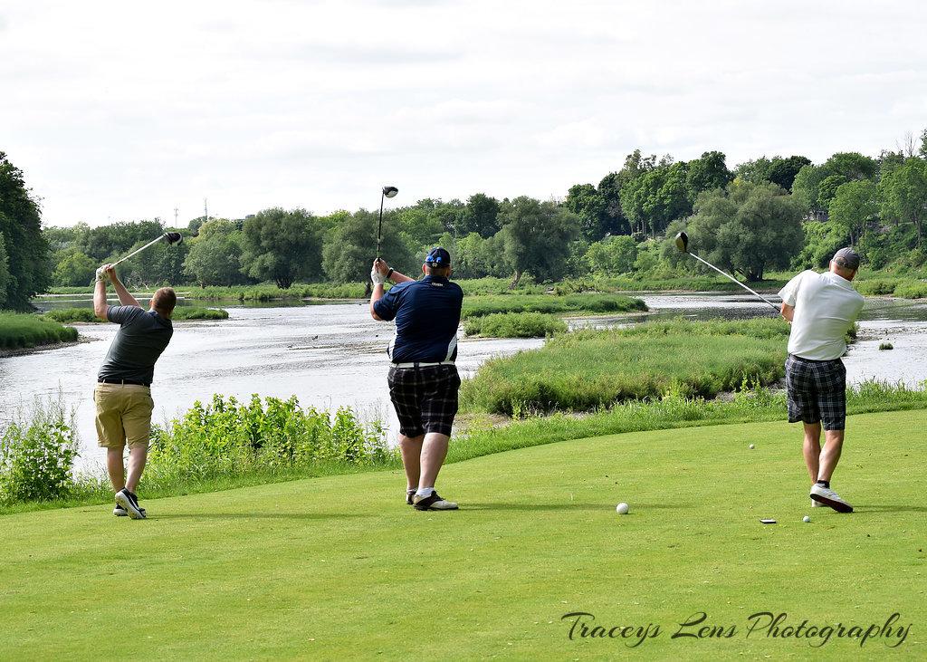 Golf-trio