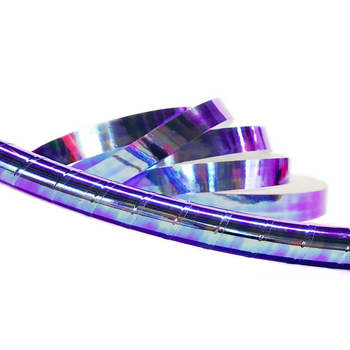 Purple Scarab Taped Hula Hoop